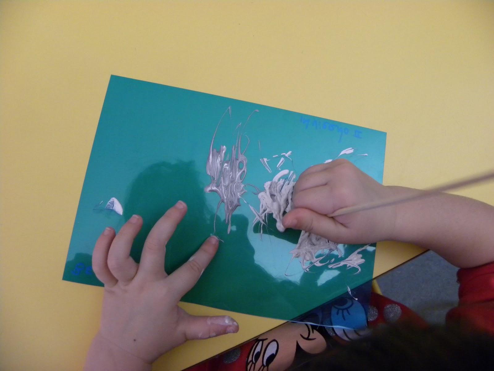 Aula de Sira Arte en acetatos Invierno