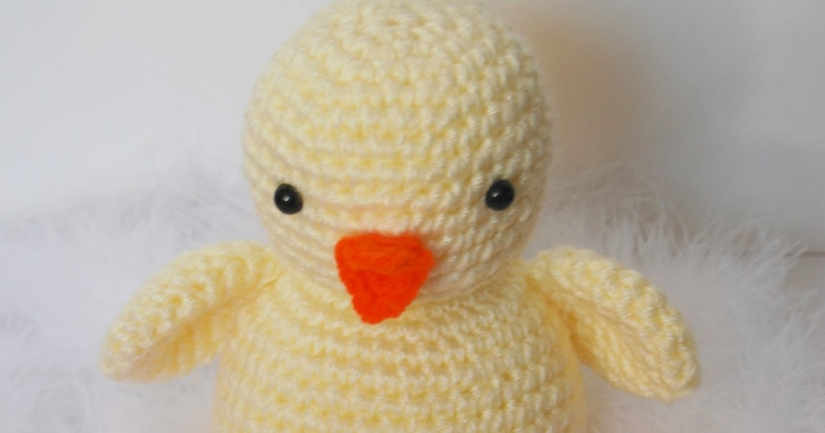 Crochet Easter Chick Pattern Free Lil Chickie Duck
