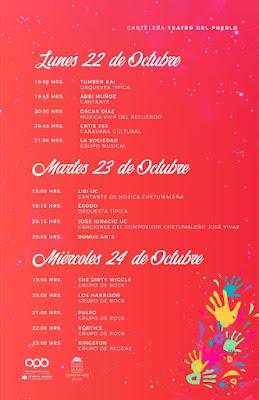 teatro del pueblo expo fer chetumal 2018