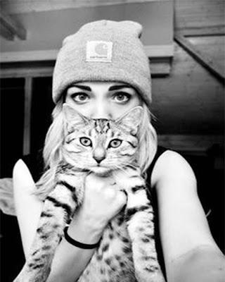 pose tumblr con gato