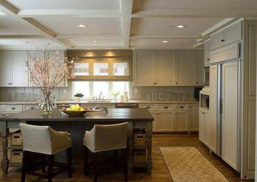 decorar ambientes con techos bajos