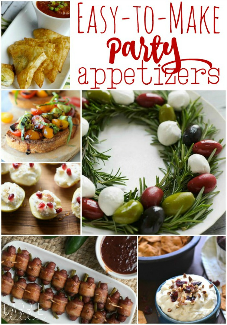 Ms toody goo shoes best of the weekend 12 for Appetizer recipes easy party appetizers