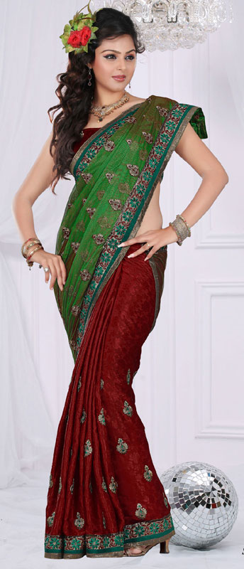 80941cbeb Awesome Fashion 2012  Awesome Best Indian Fashion Saree 2012
