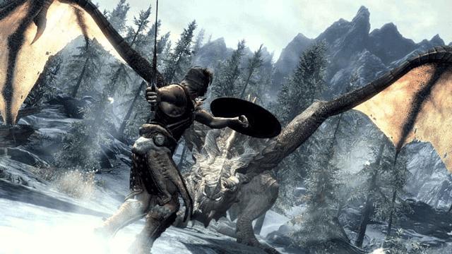 Rasakan serunya petualangan berburu naga di Skyrim