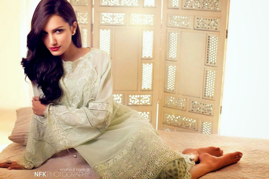 Elan Mid Summer Collection 2014 - Party Wear