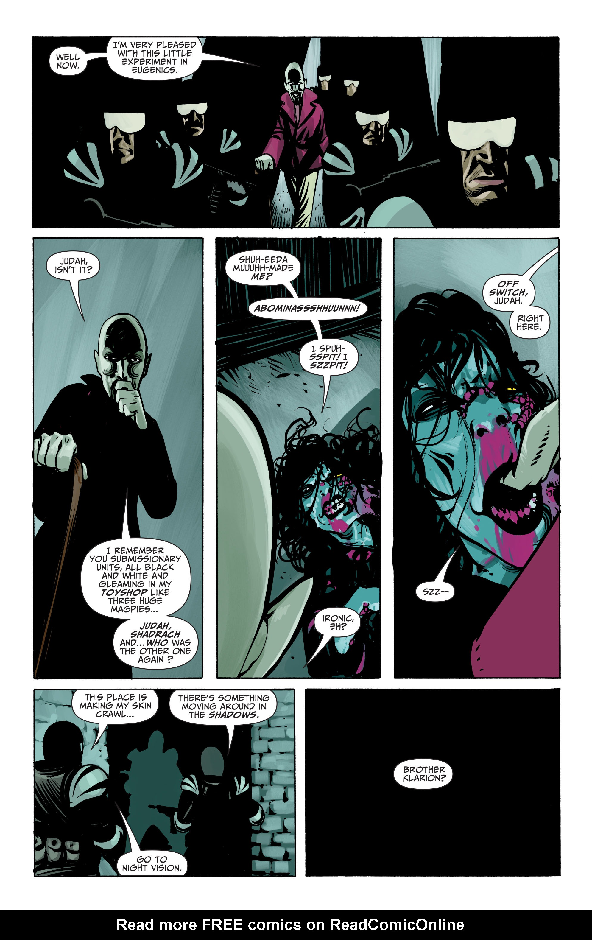 Read online Seven Soldiers: Klarion the Witch Boy comic -  Issue #4 - 15