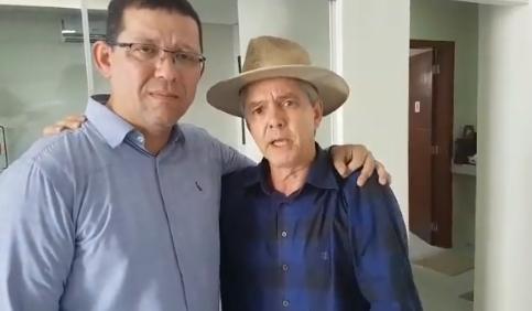 Marcos Rocha e Jaime Bagattoli
