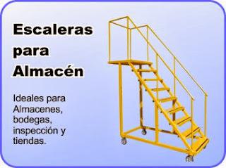 Hpc tecnologias visita nuestra fabrica de escaleras metalicas - Escaleras para almacen ...