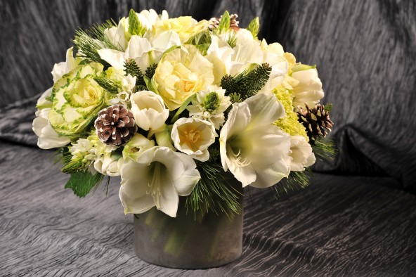 Top 12 Winter Holiday Arrangement S At Scott S Flowers Nyc