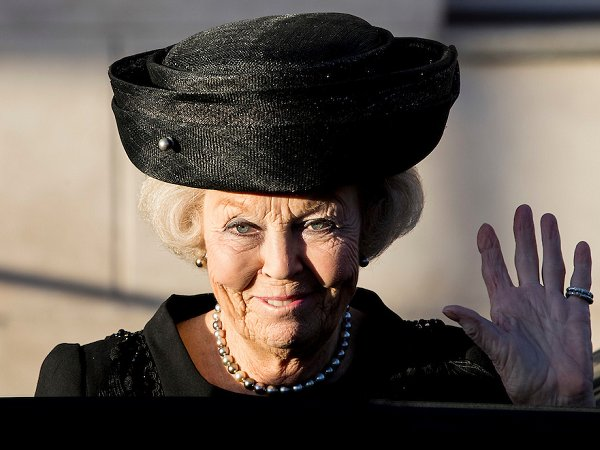Princess Beatrix Visits The Dutch Maritime Museum