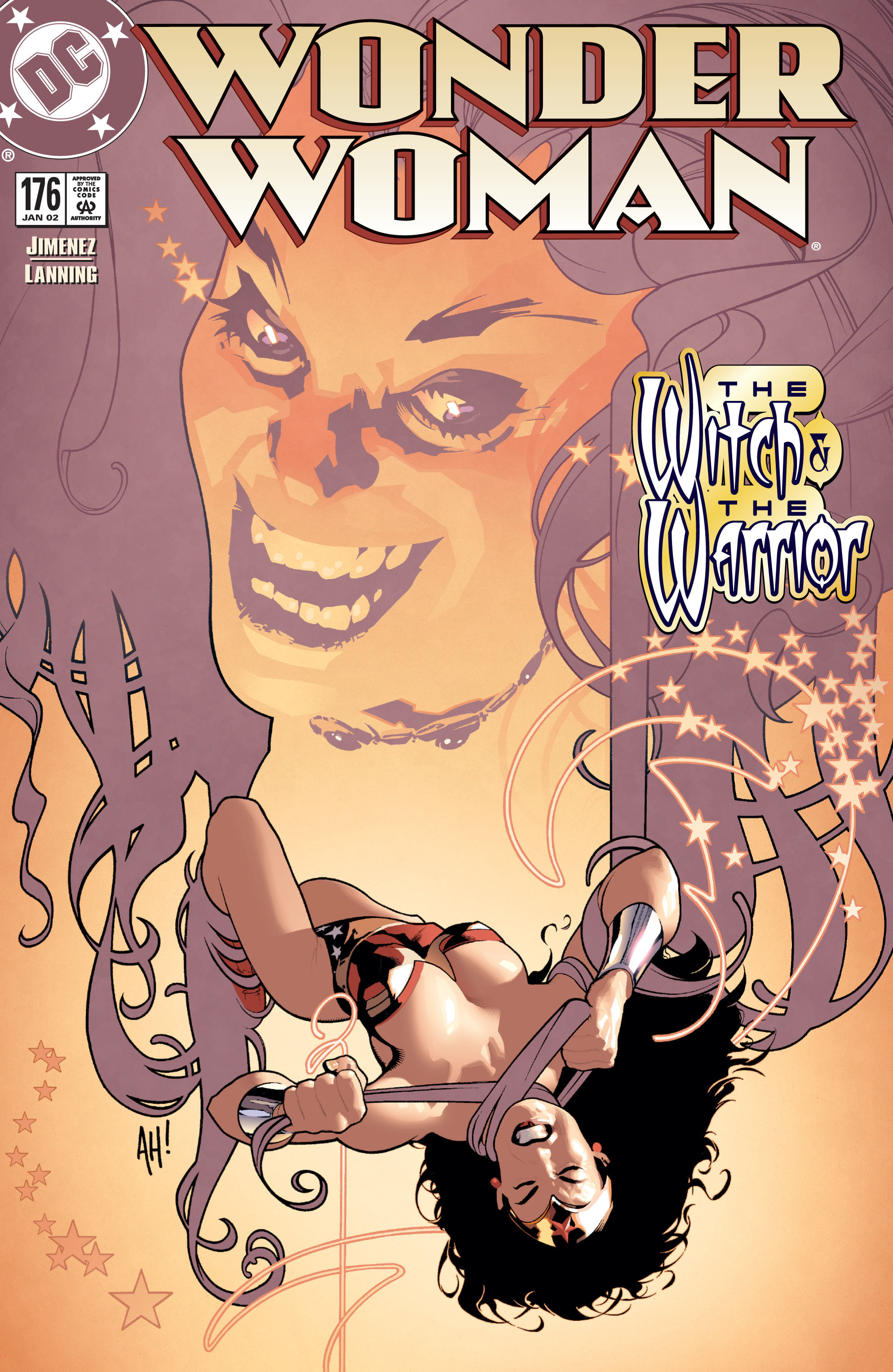 Read online Wonder Woman (1987) comic -  Issue #176 - 1