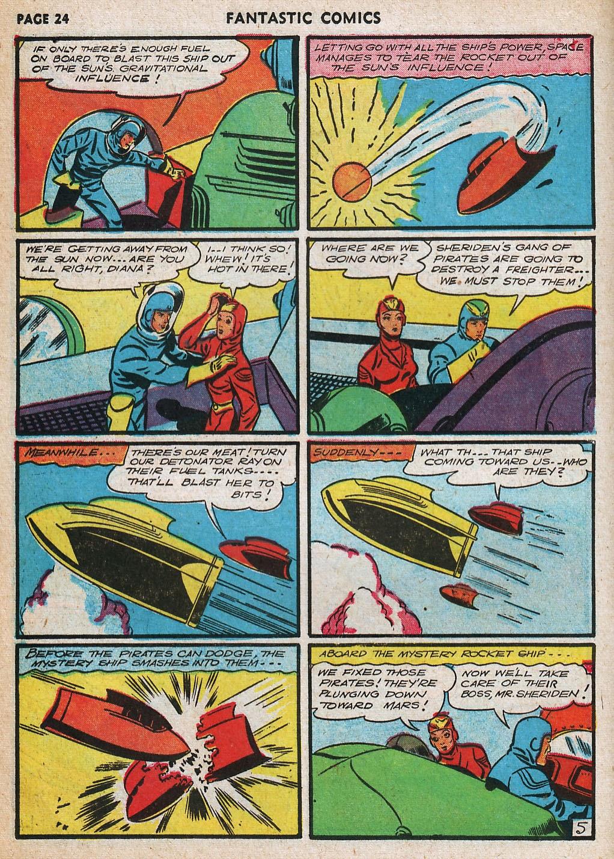 Read online Fantastic Comics comic -  Issue #20 - 25