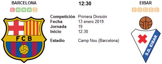 Barcelona vs Eibar en VIVO