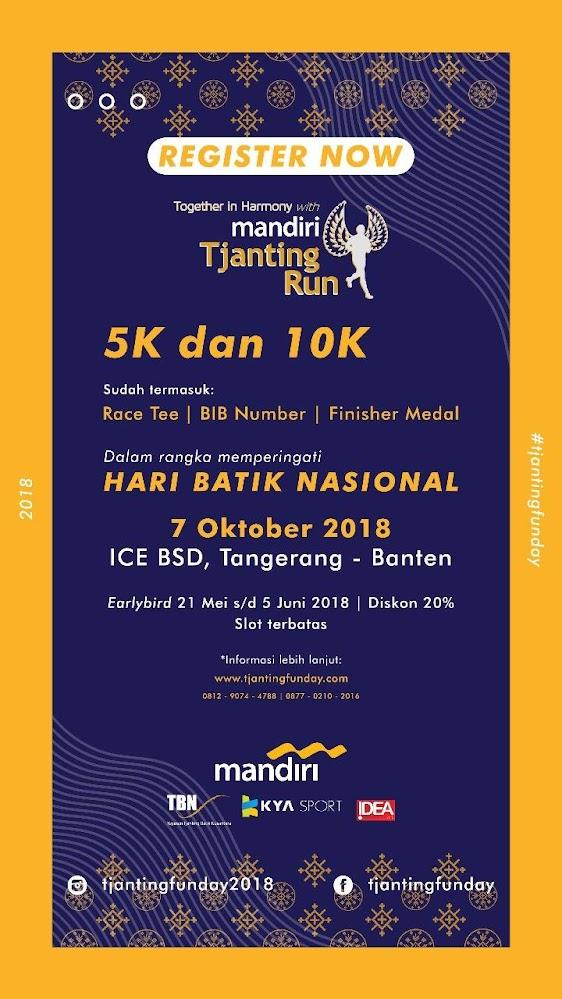 Mandiri Tjanting Run • 2018