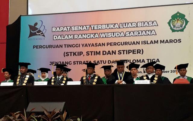 Kampus Yapim Maros Kembali Mewisuda 386 Alumni