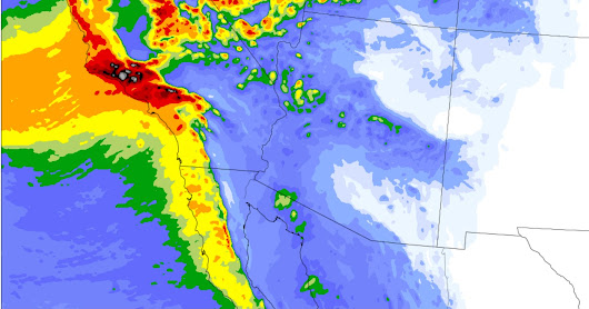 Northwest Weather Hits Southern California with the Most Substantial Storm in Years