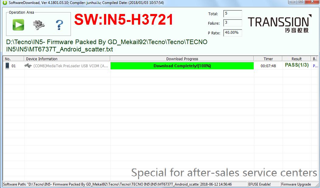 Tecno Flash Tool Free Download