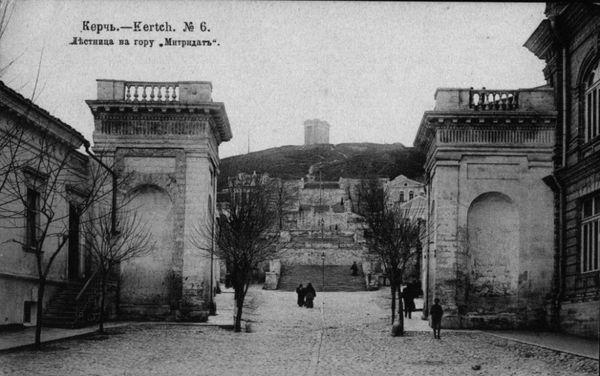 Большая Митридатская лестница в Керчи