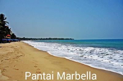 foto 5. Serunya Menikmati Panorama Pantai Marbella Dari Saung.