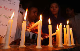 India had taken no action against terrorist attack only mourn and silence for dead people