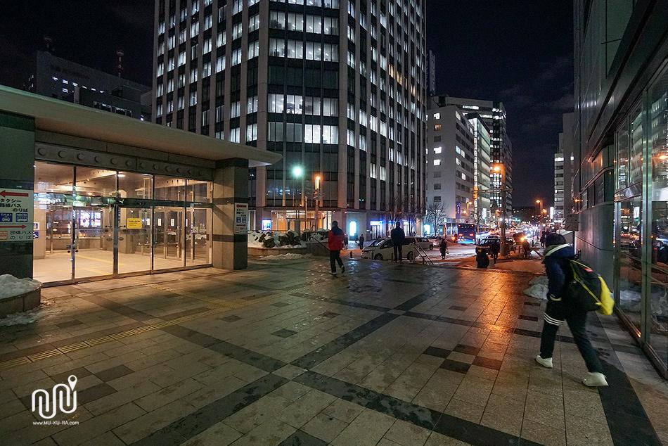 ีวิวโรงแรม Hotel Sunroute Sapporo ที่พักราคาไม่แพง ใกล้สถานี Jr Sapporo