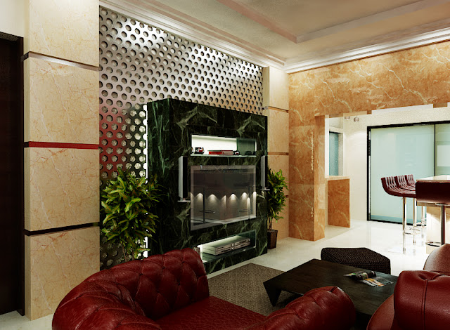 arabic design, award winning designs, best interior designs, Chandelier, dubai interior, emirates hills villa, leather paneling, living room, lobby design, luxury villas, modern design, The First ferry,