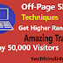 Off-Page SEO Techniques: Blog Ka Optimization Kaise Kare