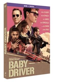 DVD de Baby Driver
