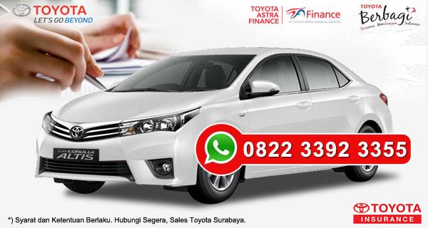 Promo DP Ringan, Paket Kredit Toyota Corolla Altis Surabaya