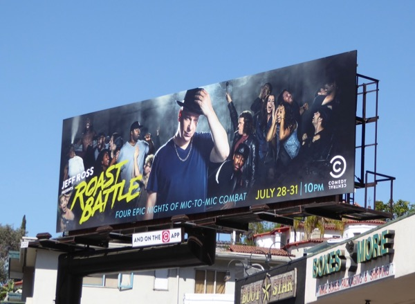 Jeff Ross Roast Battle 2016 billboard