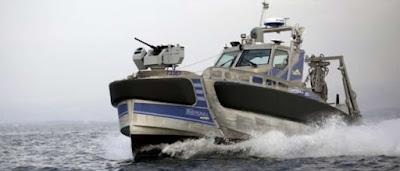 Israel desenvolve barco remoto para desarmar minas
