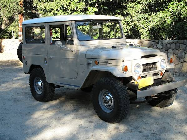Original 1968 Toyota Land Cruiser FJ40