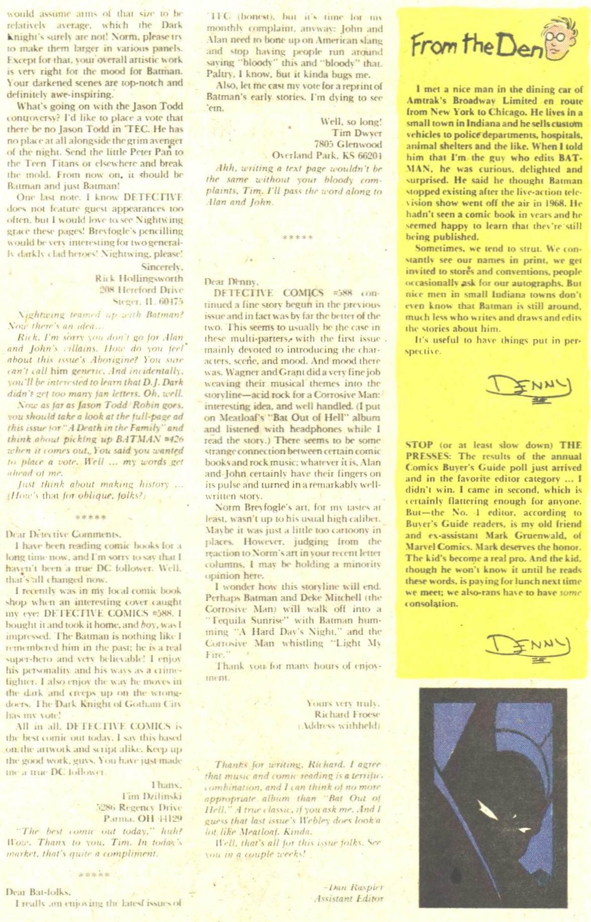 Detective Comics (1937) 591 Page 32