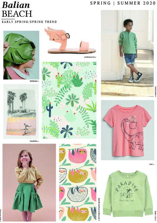 Summer 2020 Trends.Emily Kiddy K I D S Spring Summer 2020 Balian Beach
