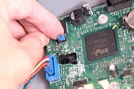 cara jumper pin motherboard