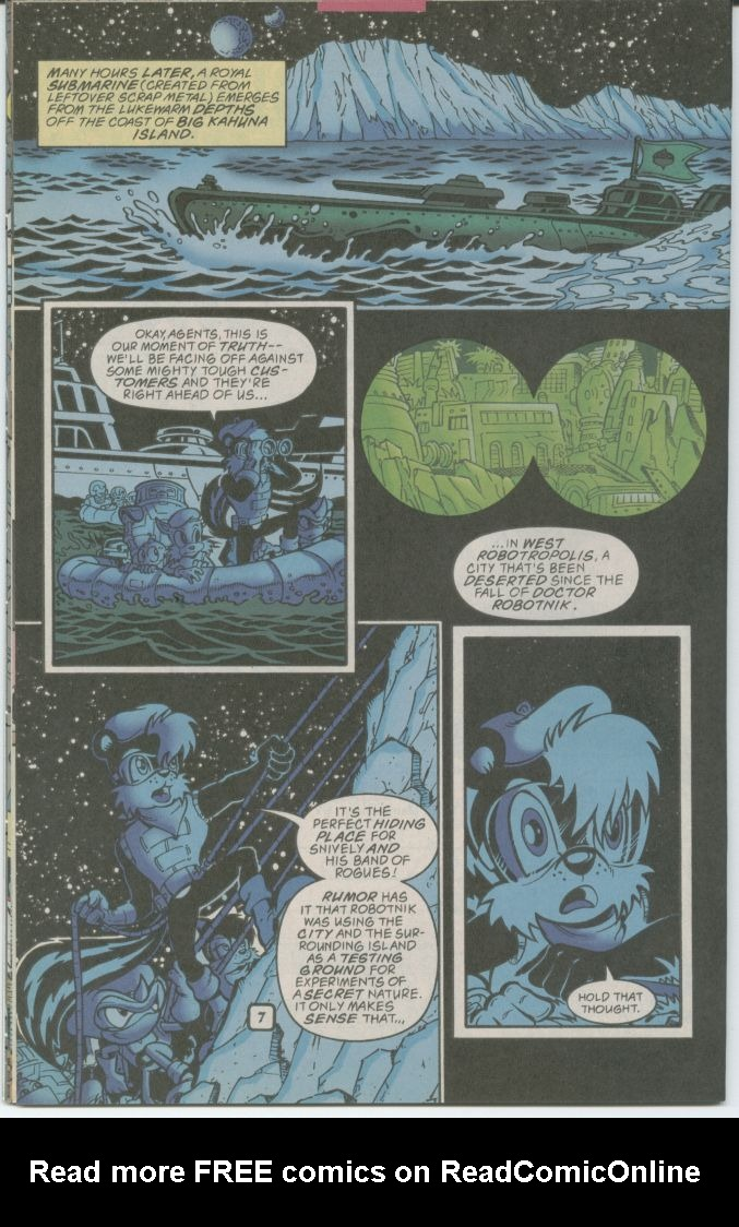 Read online Sonic The Hedgehog comic -  Issue #70 - 10
