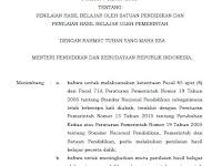 Download Permendikbud Nomor 4 Tahun 2018
