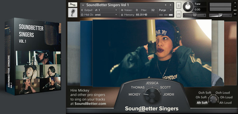 Free SoundBetter Singers free background vocals Kontakt library