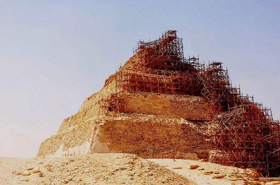 Piramide mais antiga Egito