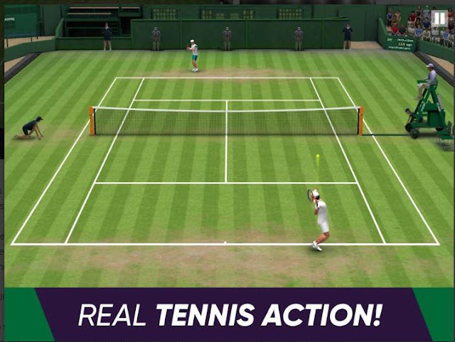 Game Tenis Lapangan untuk Android Tennis World Open 2019 Apk