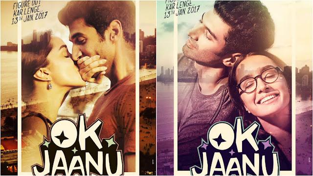 OK Jaanu, OK Jaanu Movie, OK Jaanu poster, OK Jaanu Aditya Roy Kapur, OK Jaanu Shraddha Kapoor