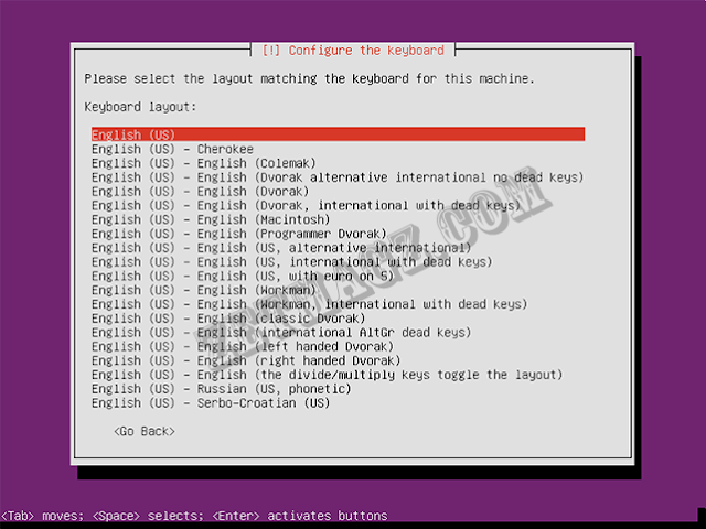 Cara install ubuntu server 16.04 LTS di Virtualbox part 2