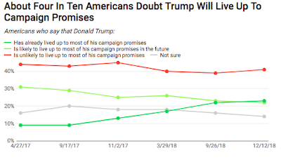 Americans Divided On Whether Trump Will Eventually Fulfill Campaign Promises