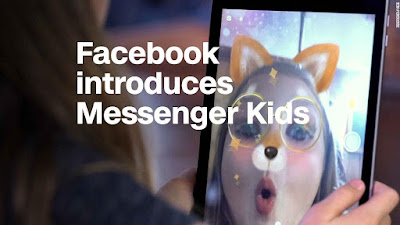 Do you admire Facebook messenger for kids by Vibhu & Me