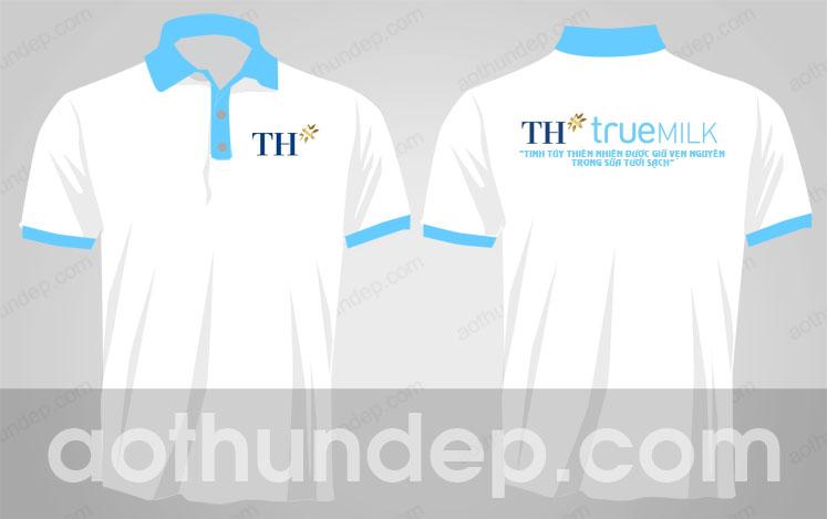 Áo thun đồng phục công ty sữa TH True Milk