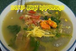 Cara membuat Kapurung makanan khas Sulawesi Selatan