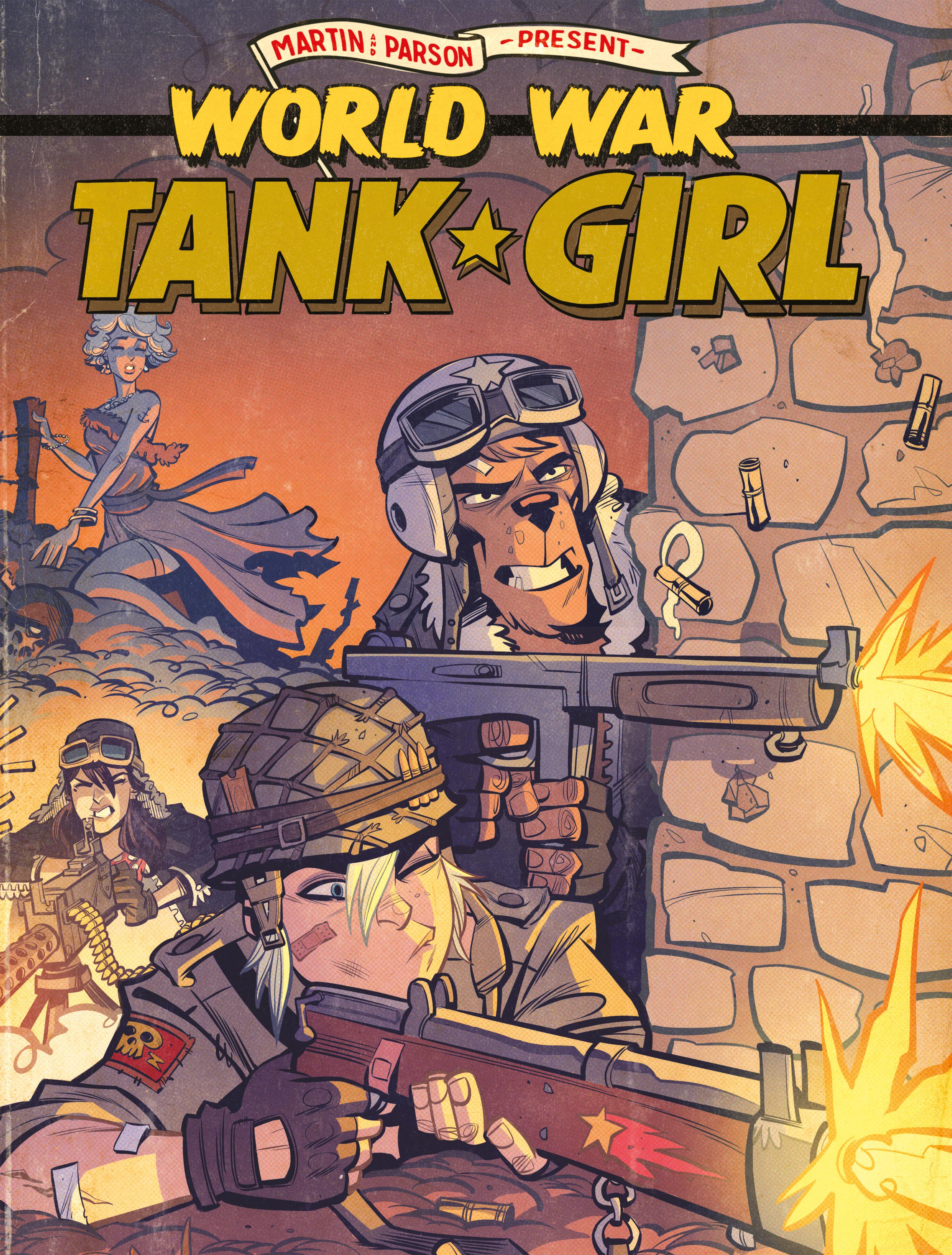 Read online Tank Girl: World War Tank Girl comic -  Issue #3 - 25