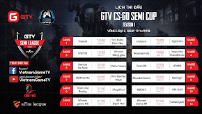 [CS:GO] Lịch thi đấu ngày thứ hai vòng loại GTV CS:GO Semi Cup Season 1