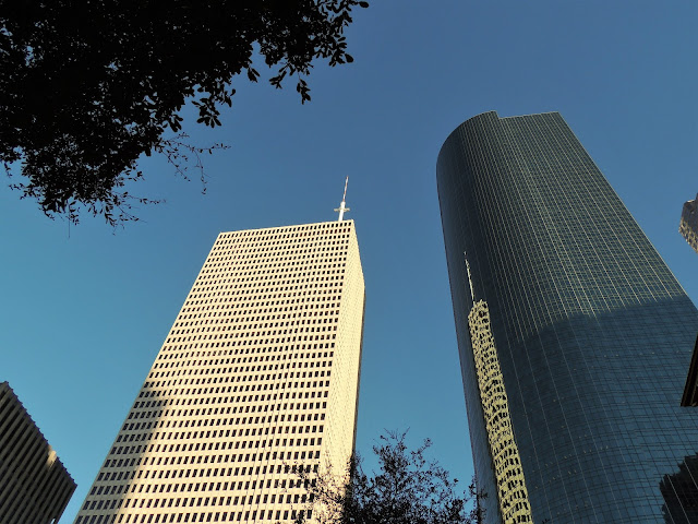 One Shell and Wells Fargo Plaza Towers