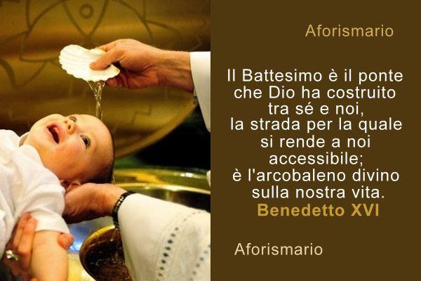 Vasca Da Bagno Frasi : Aforismario®: battesimo frasi e citazioni sul battezzare